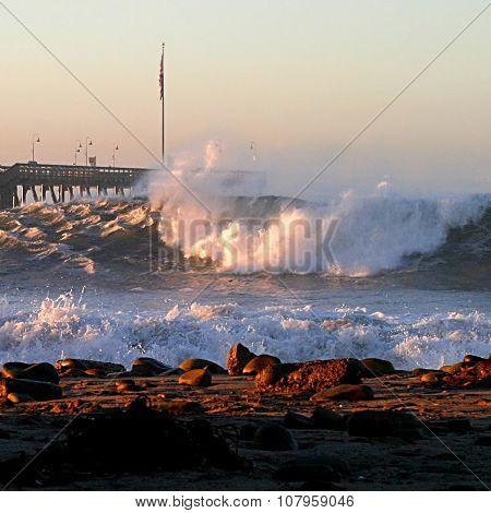 Ventura Ocean Waves