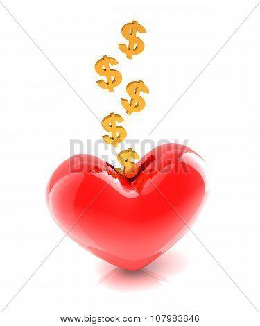 Generous money donation