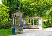Summerhouse in Cinquantenaire Park - Brussels Belgium poster