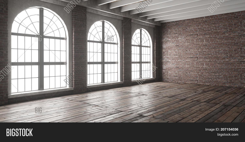 Large Empty Room Loft Image Amp Photo Free Trial Bigstock