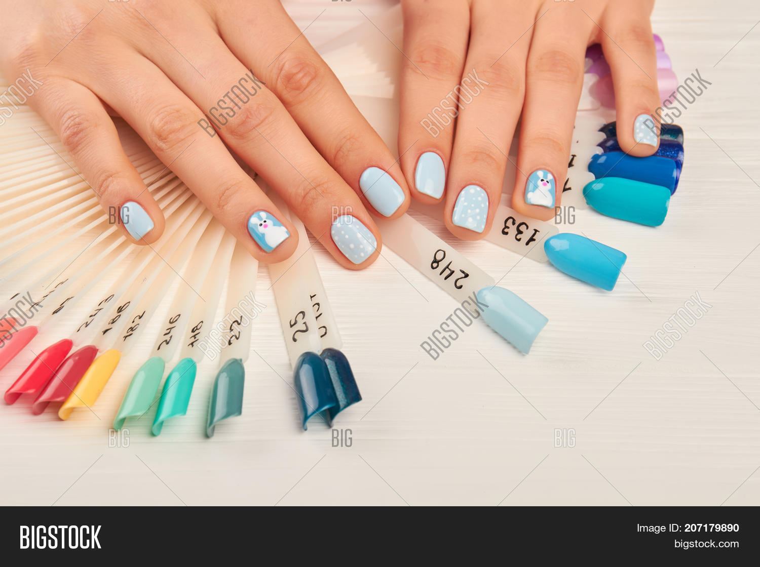 Manicured Hands Nail Image & Photo (Free Trial) | Bigstock
