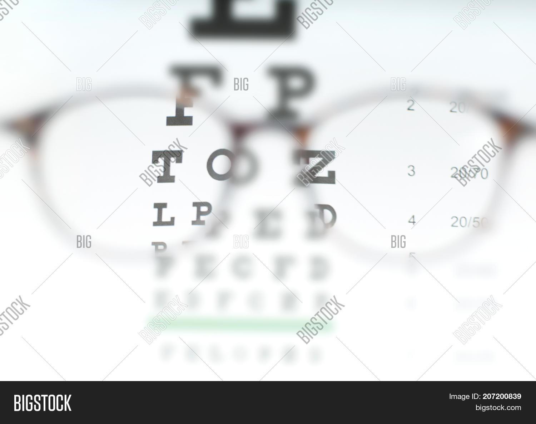 Eye Vision Test Chart Image Photo Free Trial Bigstock