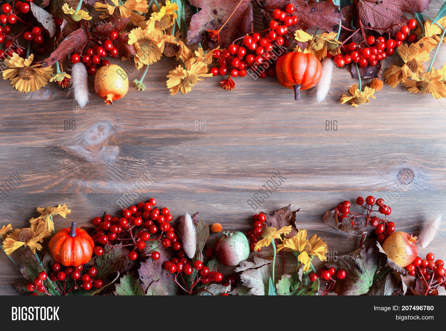 Fall Thanksgiving Image Photo Free Trial Bigstock