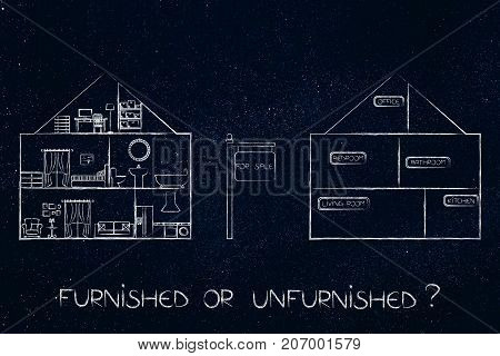 Unfurnished And Furnished Houses For Sale