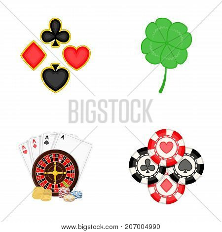 Excitement, casino, game and other  icon in cartoon style. Cheating, entertainment, recreation, icons in set collection