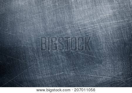 Gray Metal Sheet Background, Iron Or Aluminum Texture