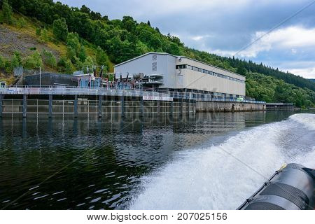 Foyers Falls Power Stations On Loch Ness