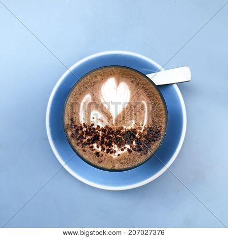 Fancy Beautiful Hot Chocolate Design