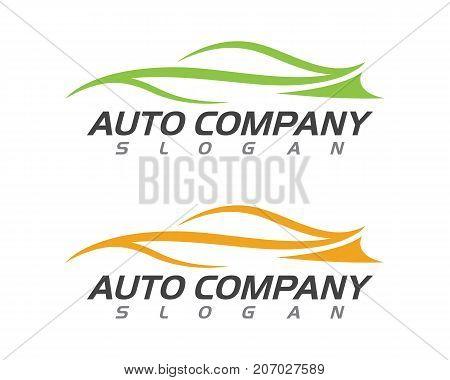 speed Auto car Logo Template vector icon