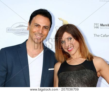 LOS ANGELES - SEP 29:  Carlo Carere, Erin Carere at the Catalina Film Festival - September 29 2017 at the Casino on Catalina Island on September 29, 2017 in Avalon, CA