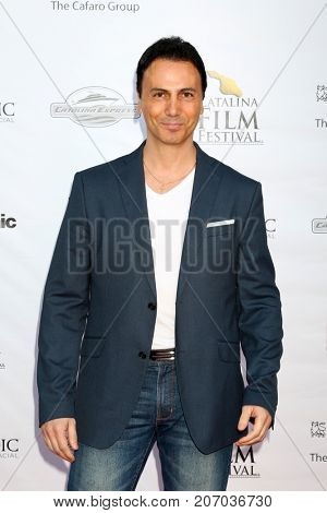 LOS ANGELES - SEP 29:  Carlo Carere at the Catalina Film Festival - September 29 2017 at the Casino on Catalina Island on September 29, 2017 in Avalon, CA