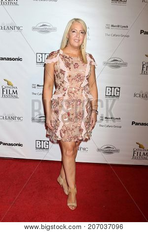 LOS ANGELES - SEP 29:  Michelle Fuller at the Catalina Film Festival - September 29 2017 at the Casino on Catalina Island on September 29, 2017 in Avalon, CA