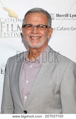 LOS ANGELES - SEP 29:  Tony Plana at the Catalina Film Festival - September 29 2017 at the Casino on Catalina Island on September 29, 2017 in Avalon, CA