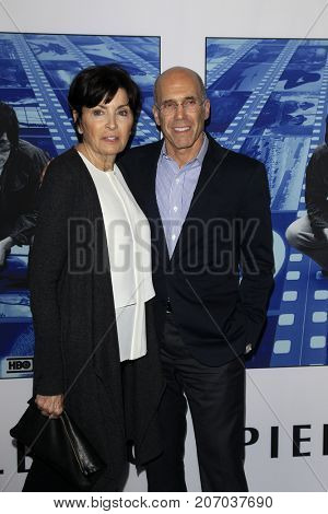 LOS ANGELES - SEP 26:  Marilyn Katzenberg, Jeffrey Katzenberg at the