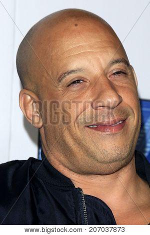 LOS ANGELES - SEP 26:  Vin Diesel at the