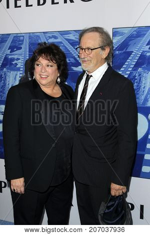 LOS ANGELES - SEP 26:  Susan Lacy, Steven Spielberg at the