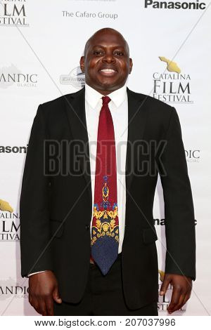 LOS ANGELES - SEP 30:  Edward King III at the Catalina Film Festival - September 30 2017 at the Casino on Catalina Island on September 30, 2017 in Avalon, CA