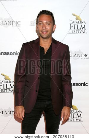LOS ANGELES - SEP 30:  Andrew Kightlinger at the Catalina Film Festival - September 30 2017 at the Casino on Catalina Island on September 30, 2017 in Avalon, CA