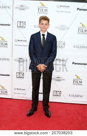 LOS ANGELES - SEP 30:  Colin Critchley at the Catalina Film Festival - September 30 2017 at the Casino on Catalina Island on September 30, 2017 in Avalon, CA