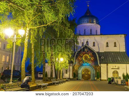 Evening In Pochaev Lavra