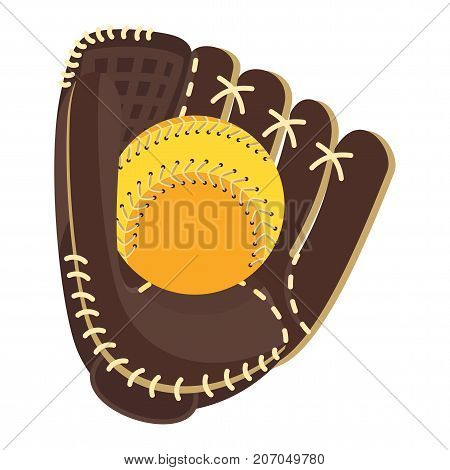 Baseball Glove Brown