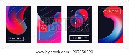 Liquid Color Covers Set.