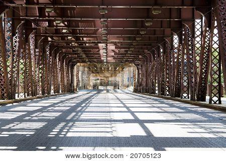 Urban Style - Bridge In City Downtown