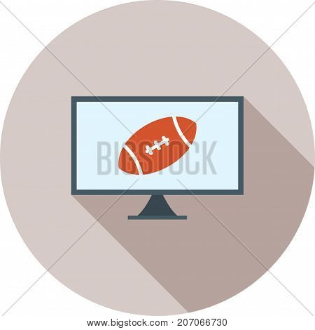 News, sports, media icon vector image. Can also be used for news and media. Suitable for mobile apps, web apps and print media.