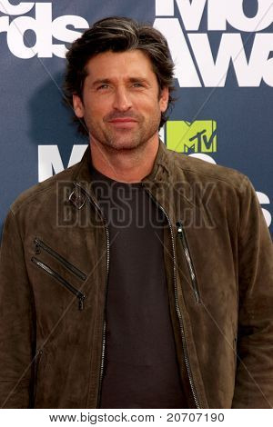 LOS ANGELES - JUNE 5: Patrick Dempsey arrives at the the 2011 MTV Movie Awards at Gibson Ampitheatre on June 5, 2011 in Los Angeles, CA