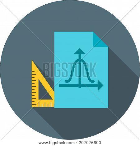 Graph, Bar, Maths Icon Vector Vector & Photo | Bigstock