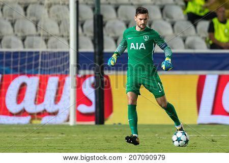 Champions League Game Between Apoel Vs Tottenham Hotspur
