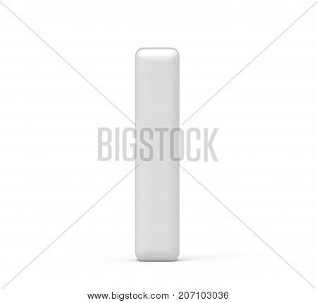 Pearl White Letter I