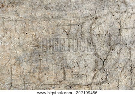 Texture Of Aged Hardboard. Abstract Rustic Background