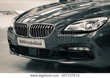 Munich Germany - July 15 2017: Prestigious deluxe edition of BMW Individual car based on 650i special exclusive model