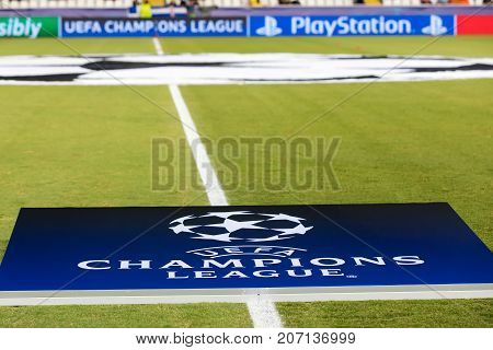 Champions League Game Between Apoel Vs Tottenham Hotspur