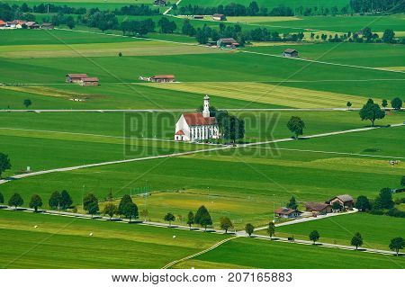 Church On Field