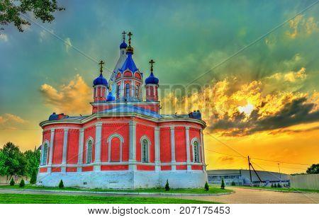 Church of the Theotokos of Tikhvin at Kolomna Kremlin - Moscow Oblast, Russia