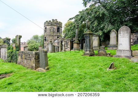 Old Calton Burial Ground Cemetary In Edinburgh