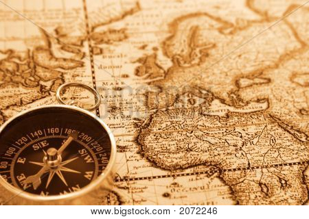 world antique map map compass compass