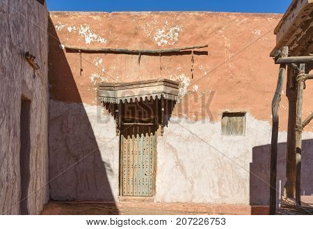 Decoration Of Medina In Atlas Corporation Studios. Ouarzazate