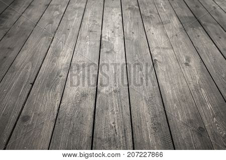 Dark Gray Wooden Floor, Background Photo