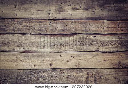 brown old wood texture with knot, wooden background