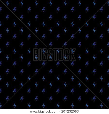 Created blue thunders texture background stock vector