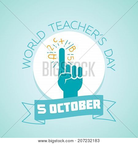 5 October World  Teachers Day