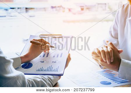 Business Personal Teaching And Looking The Summary Report Data Information Budget In Paperwork.