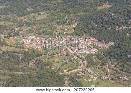 Arroyo Frio town in Sierra de Cazrola Jaen Spain