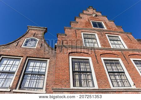 Historic Gables In The Old Center Of Haarlem