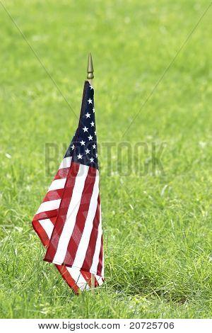 Memorial American Flag