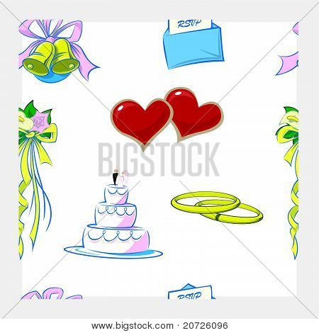 Wedding Pattern Repeat