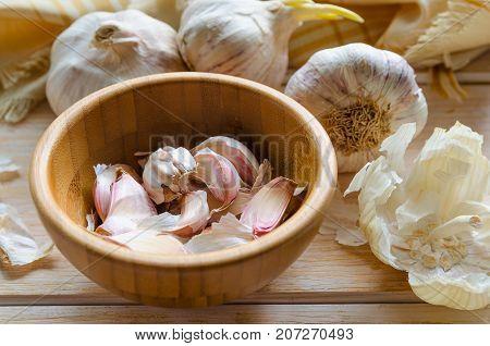 Organic Garlic Cloves